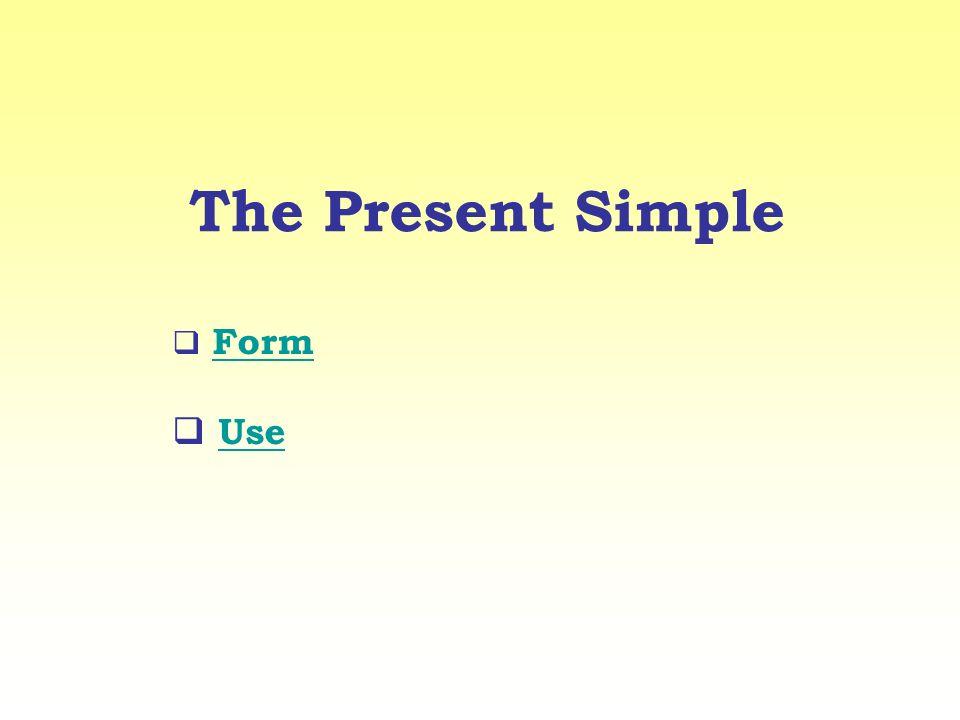 Use Si usa per parlare di azioni abituali, situazioni permanenti e dati di fatto.