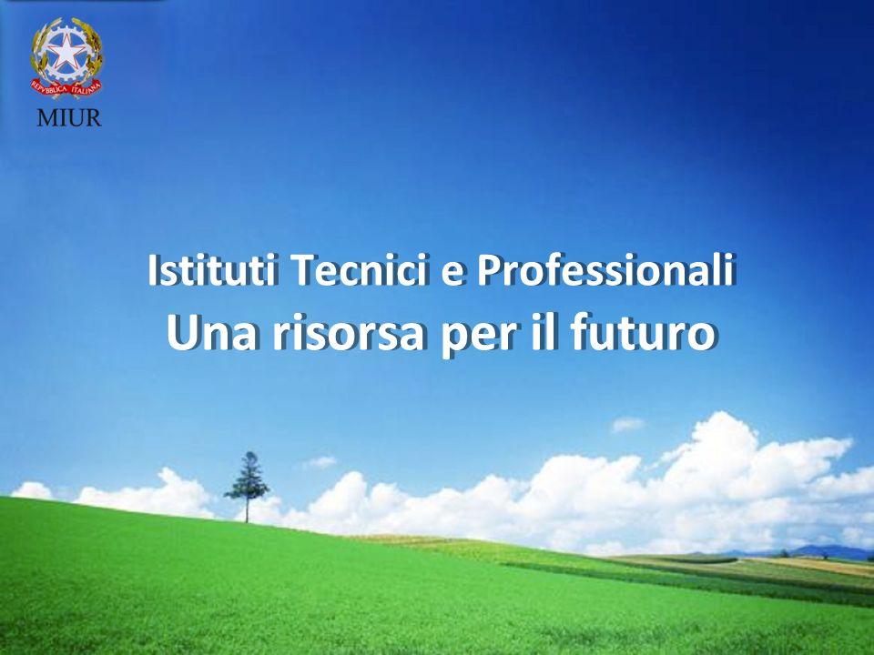 LOGO Istituti Tecnici e Professionali Una risorsa per il futuro