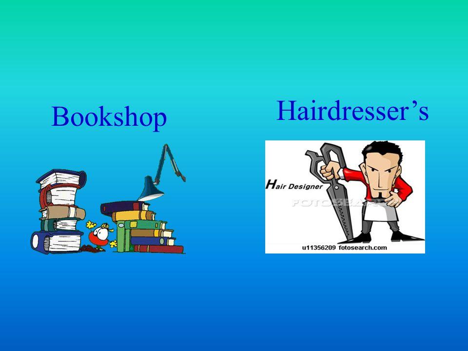 Bookshop Hairdressers