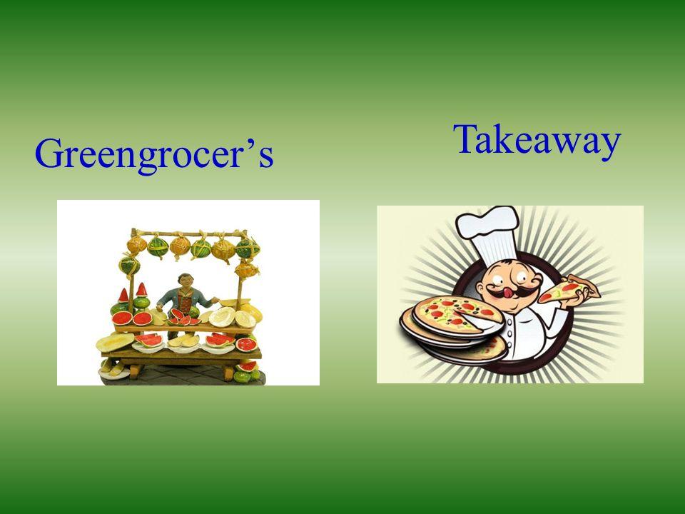 Greengrocers Takeaway