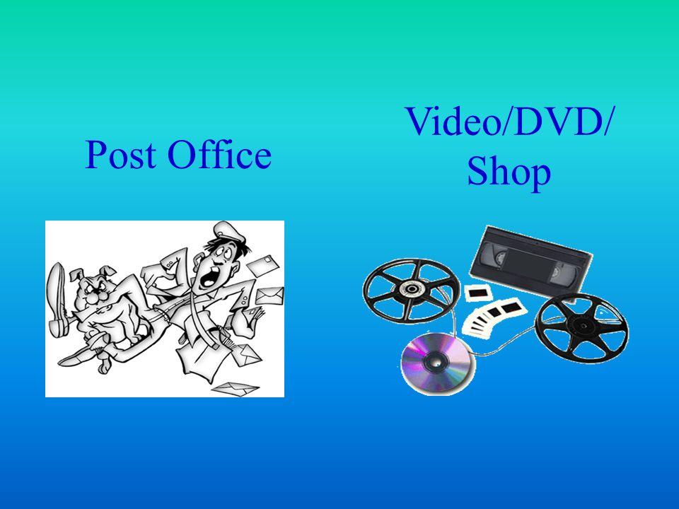 Post Office Video/DVD/ Shop