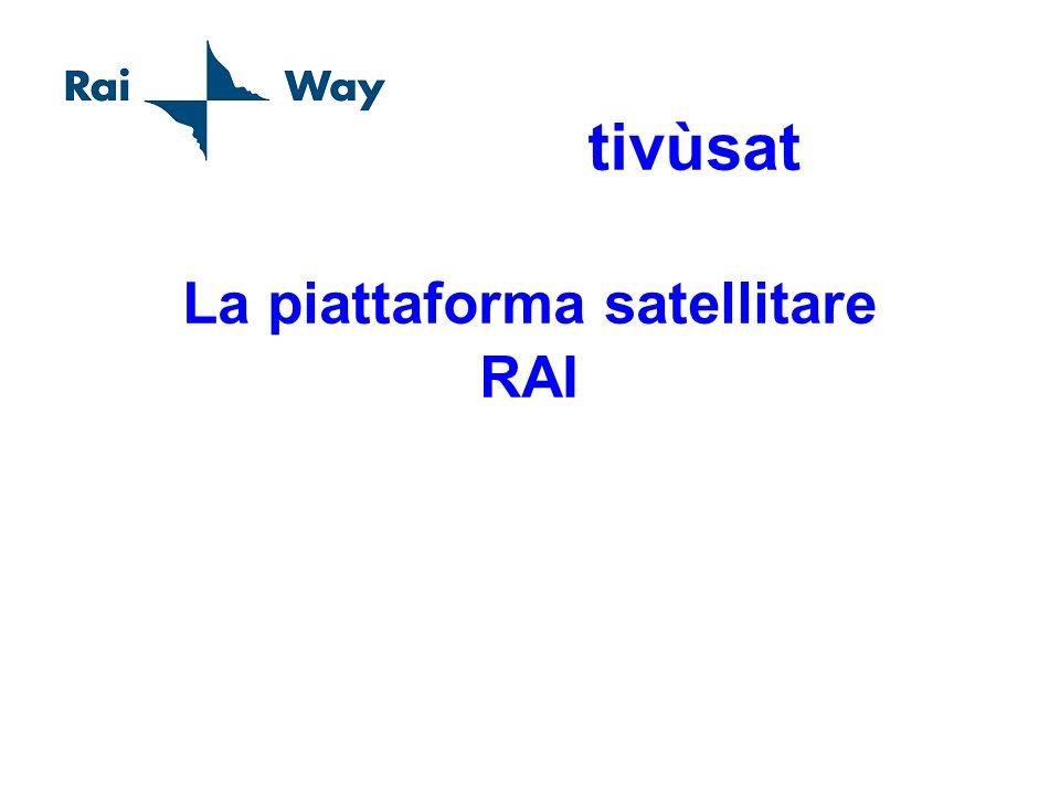 tivùsat La piattaforma satellitare RAI