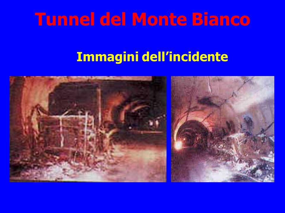 Tunnel del Monte Bianco Immagini dellincidente