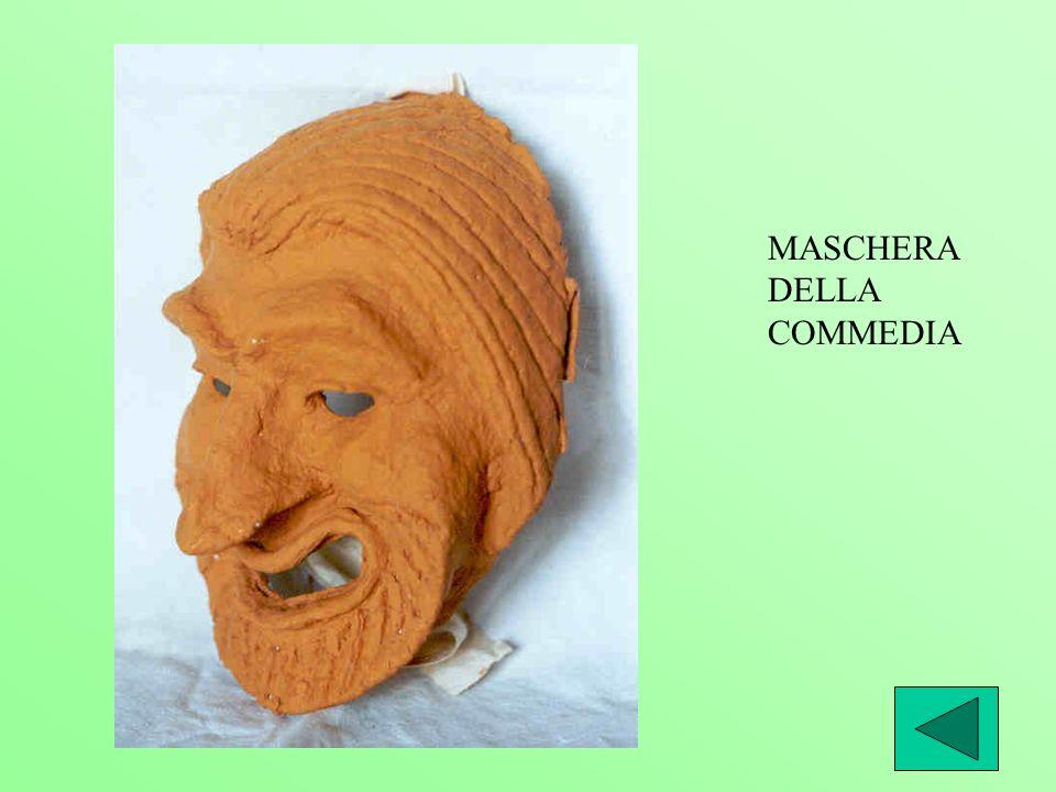MASCHERA DELLA COMMEDIA