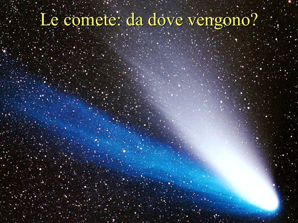 Sono miliardi i nuclei cometari che orbitano attorno al Sole; la maggioranza sono confinati in una regione, chiamata Nube di Oort, situata a metà stra