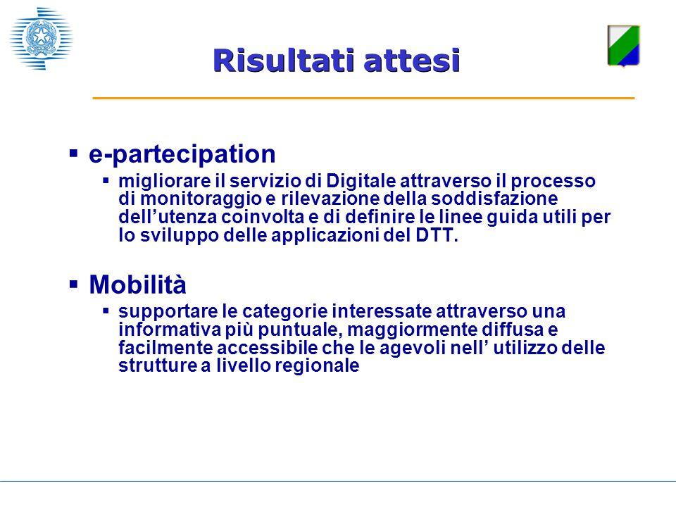 e-partecipation migliorare il servizio di Digitale attraverso il processo di monitoraggio e rilevazione della soddisfazione dellutenza coinvolta e di