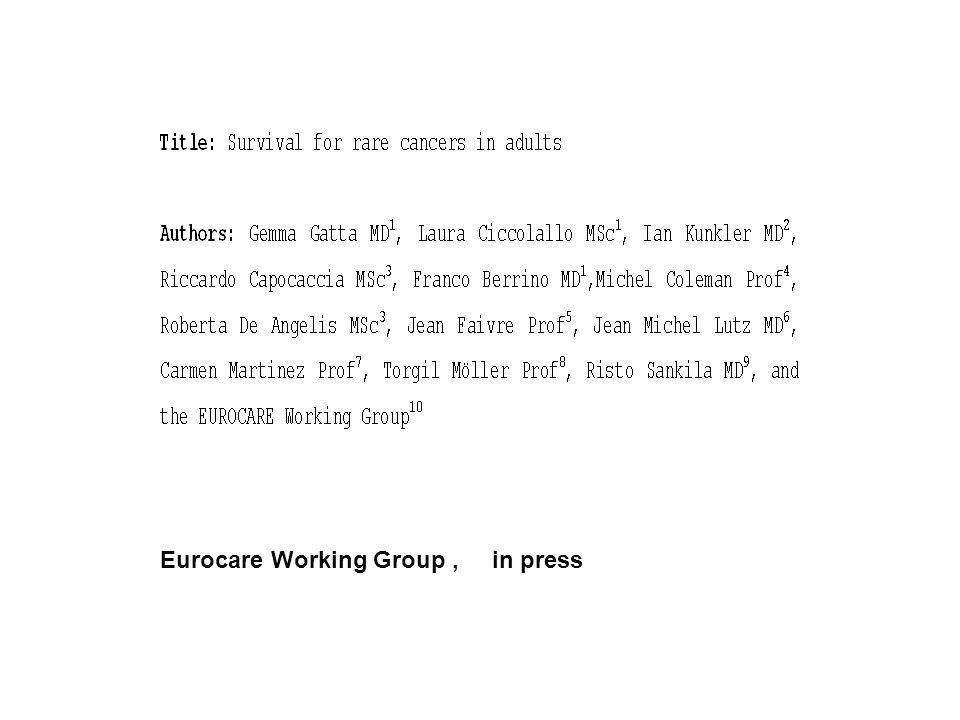 Eurocare Working Group, in press