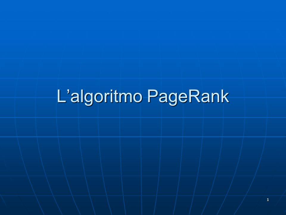 1 Lalgoritmo PageRank