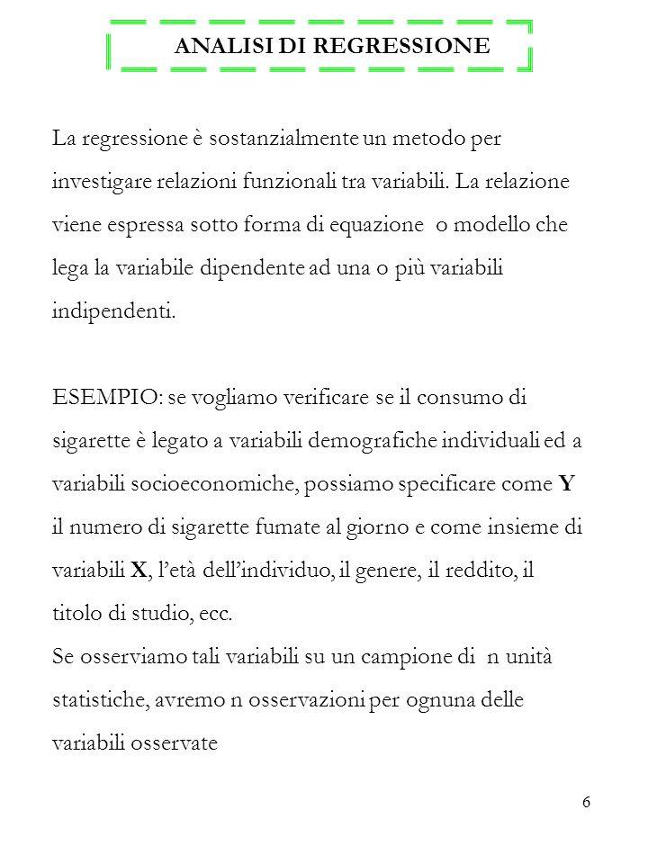 17 SI CONSIDERINO GLI STIMATORI OLS TEOREMA DI GAUSS-MARKOV : Date le assunzioni 1., 2., 4., 5., 6.