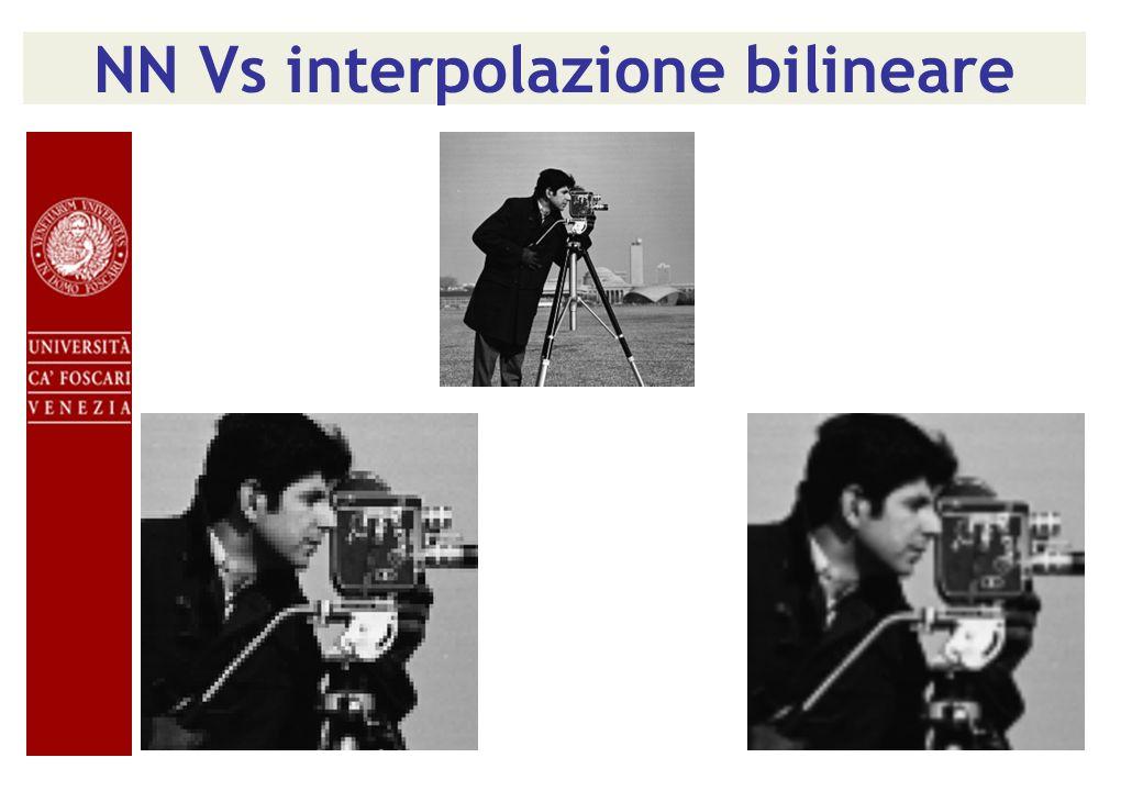 NN Vs interpolazione bilineare