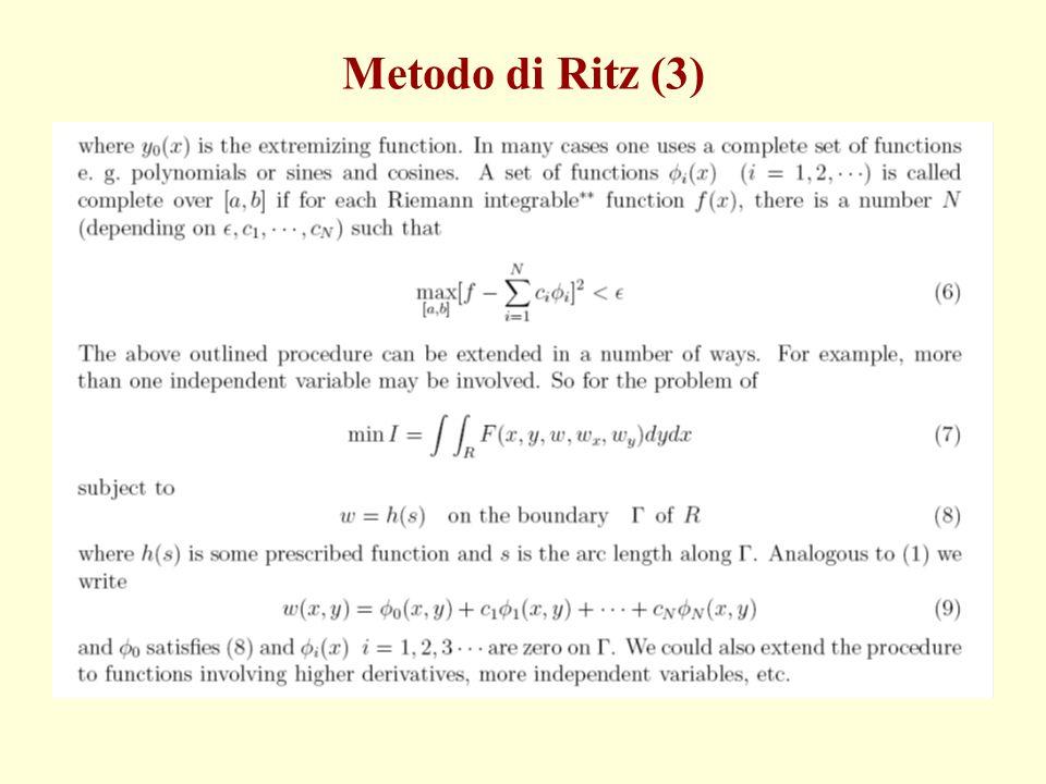 Metodo di Ritz (3)