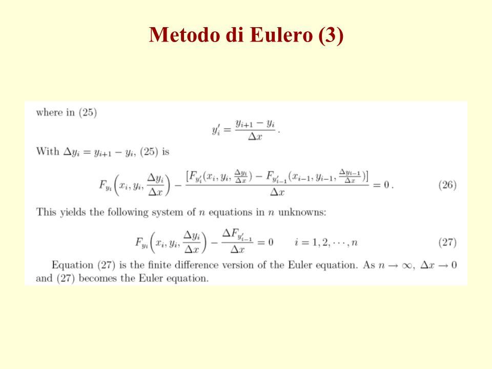 Metodo di Eulero (3)