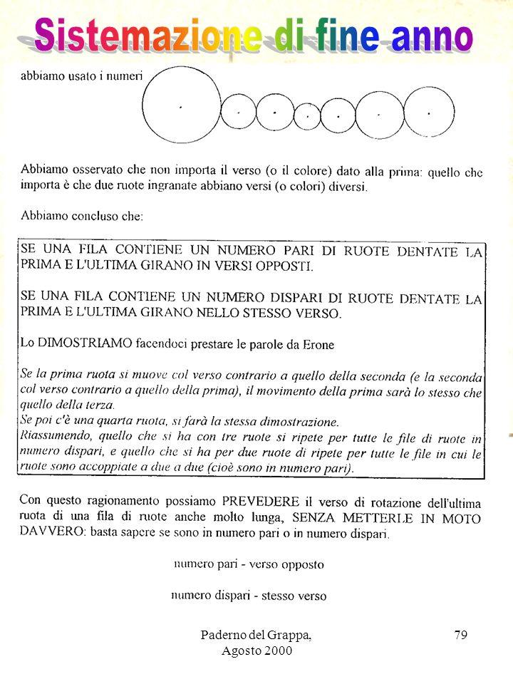 Paderno del Grappa, Agosto 2000 79