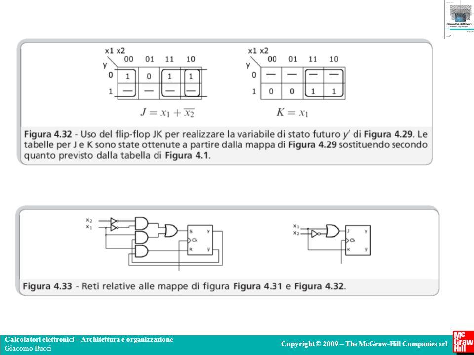 Calcolatori elettronici – Architettura e organizzazione Giacomo Bucci Copyright © 2009 – The McGraw-Hill Companies srl