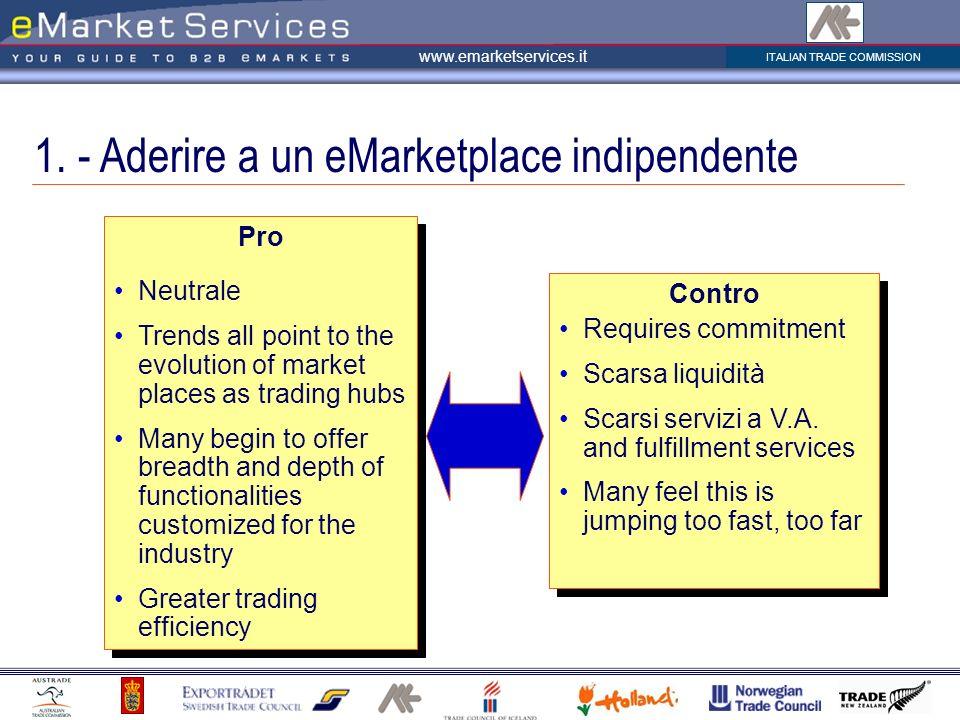 ITALIAN TRADE COMMISSION www.emarketservices.it 1.