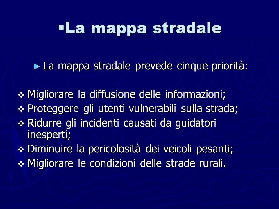 La diffusione delle informazioni stradali La diffusione delle informazioni stradali E stato inserito inoltre un efficace servizio di informazioni sul traffico.