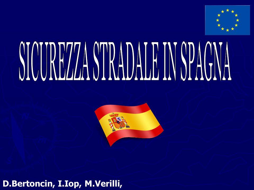 La Spagna fa parte del gruppo dei cinque paesi europei che hanno maggiormente diminuito le vittime di incidenti stradali negli ultimi anni Si è passati dai 136 morti per milione di abitanti nel 2001 ai 60 nel 2009