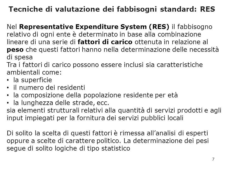 I fabbisogni standard dei Comuni per la polizia locale: i risultati 28 Modello Organizzativo Numerosit à Popolazion e al 31/12/200 9 Spesa corrente utilizzata per la stima dei fabbisog ni standard % del totale (A) Fabbisogn o Standard % del totale (B) Differenz a % (B-A)/A 1 - Comuni con gestione associata in Unione di Comuni6902.394.5662,93823,12156,2 2 - Comuni con gestione associata in Comunità montana157245.7770,24590,311226,6 3 - Comuni con gestione associata in Consorzio136704.2070,79010,85678,4 4 - Comuni con gestione associata in Convenzione tra Comuni o con altre forme 1.3277.087.0449,48929,89014,2 5 - Comuni non in forma associata senza il servizio di polizia locale394219.0260,02970,2759828,2 6 - Comuni con gestione diretta del servizio di polizia locale3.99840.584.10786,506985,5446-1,1 6.70251.234.727100,0000 0,0
