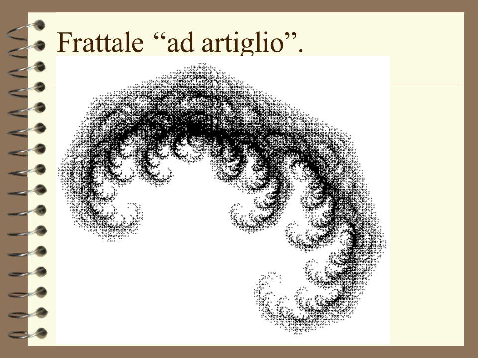 Frattale ad artiglio. (uso di Mathematica)