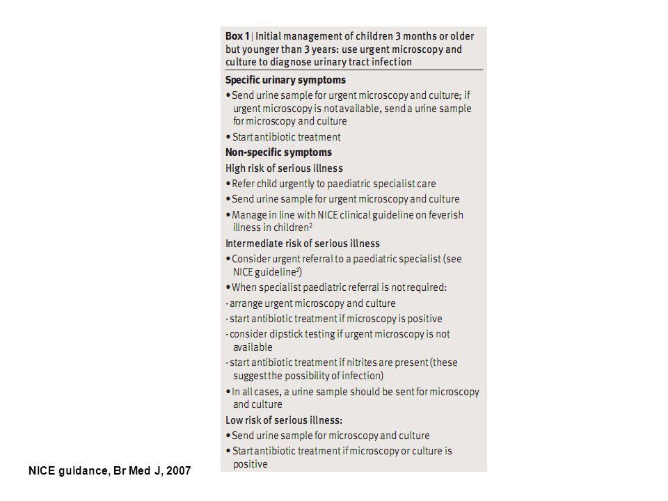 NICE guidance, Br Med J, 2007