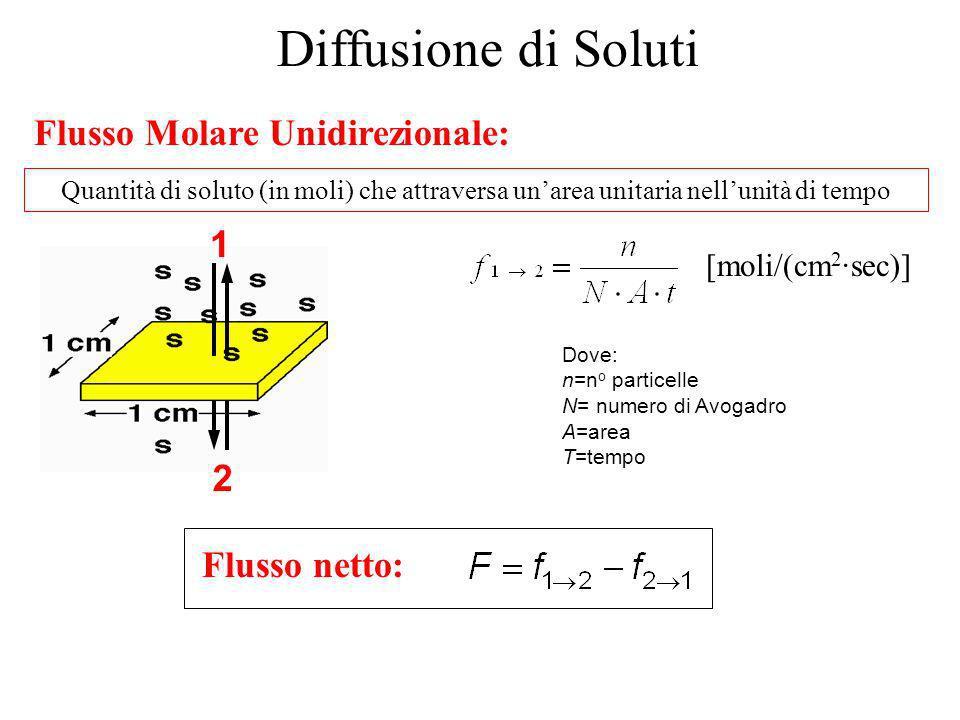 Che cosa spinge le particelle a diffondere? La diffusione è il movimento molecolare generato dallenergia termica: moti browniani (A. Einstein) Che cos