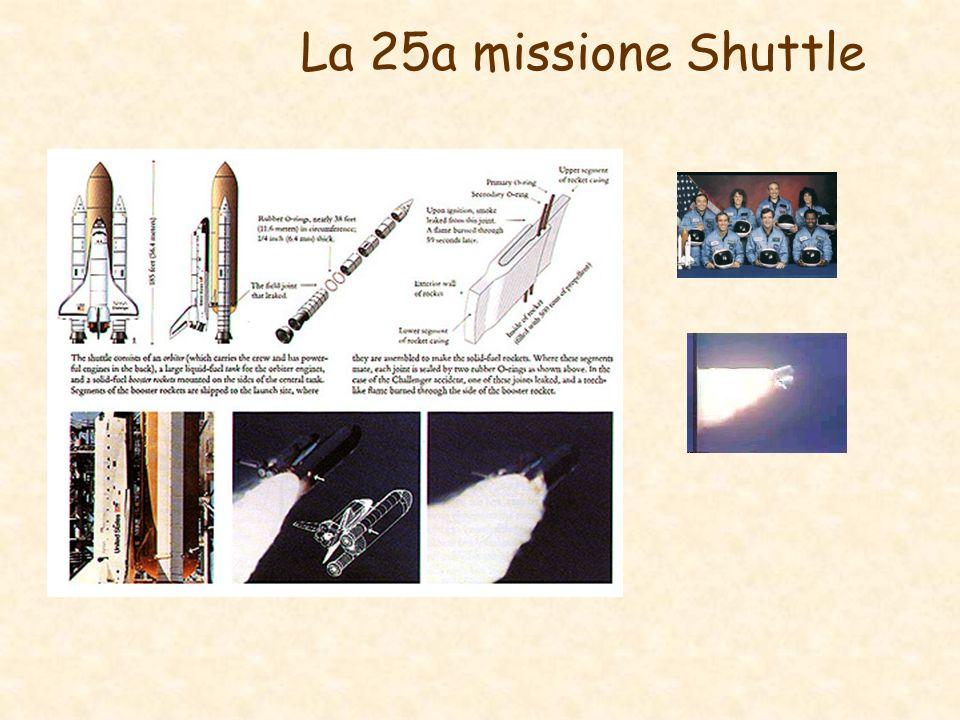 La 25a missione Shuttle