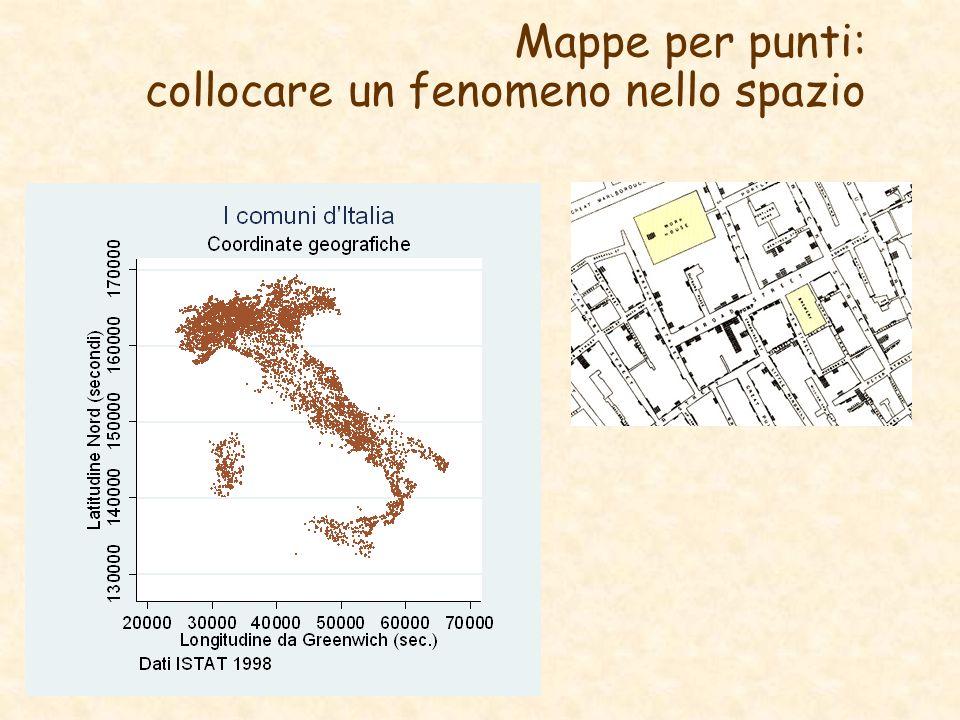 Mappe per punti: collocare un fenomeno nello spazio