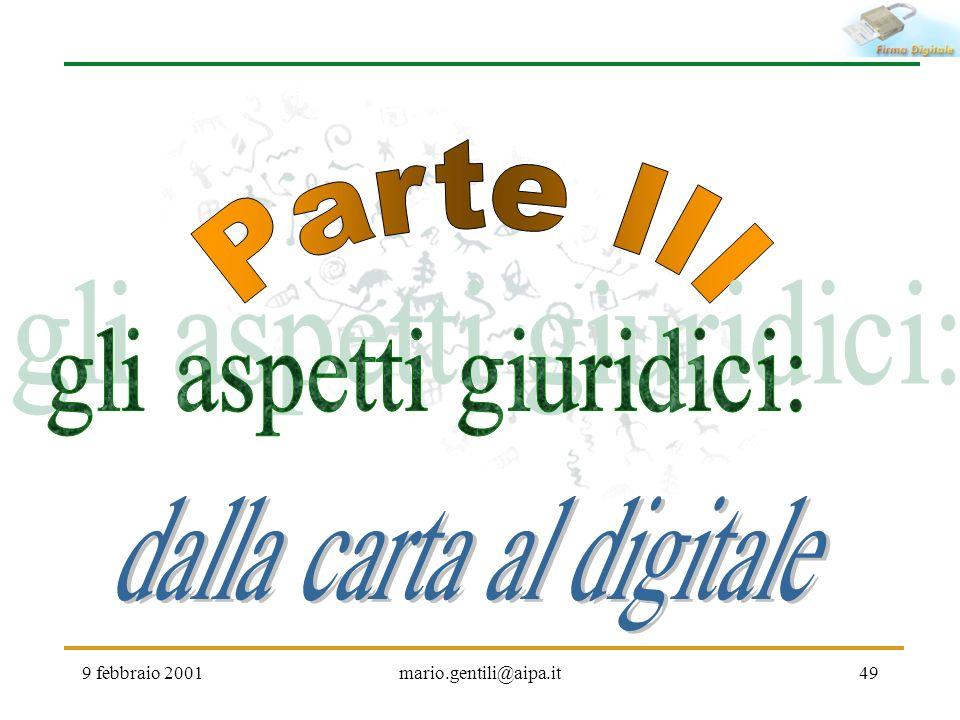 9 febbraio 2001mario.gentili@aipa.it49
