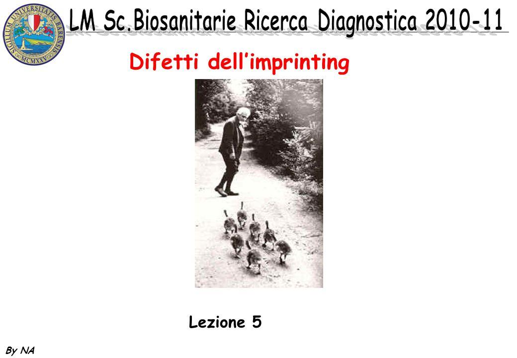 By NA Difetti dellimprinting Lezione 5
