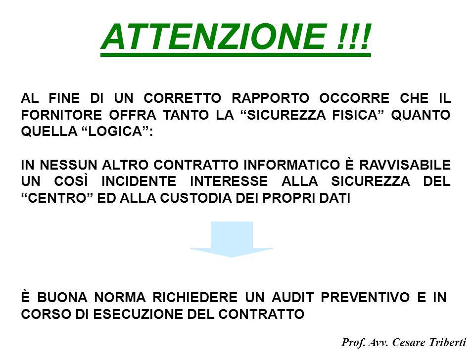 ATTENZIONE !!.