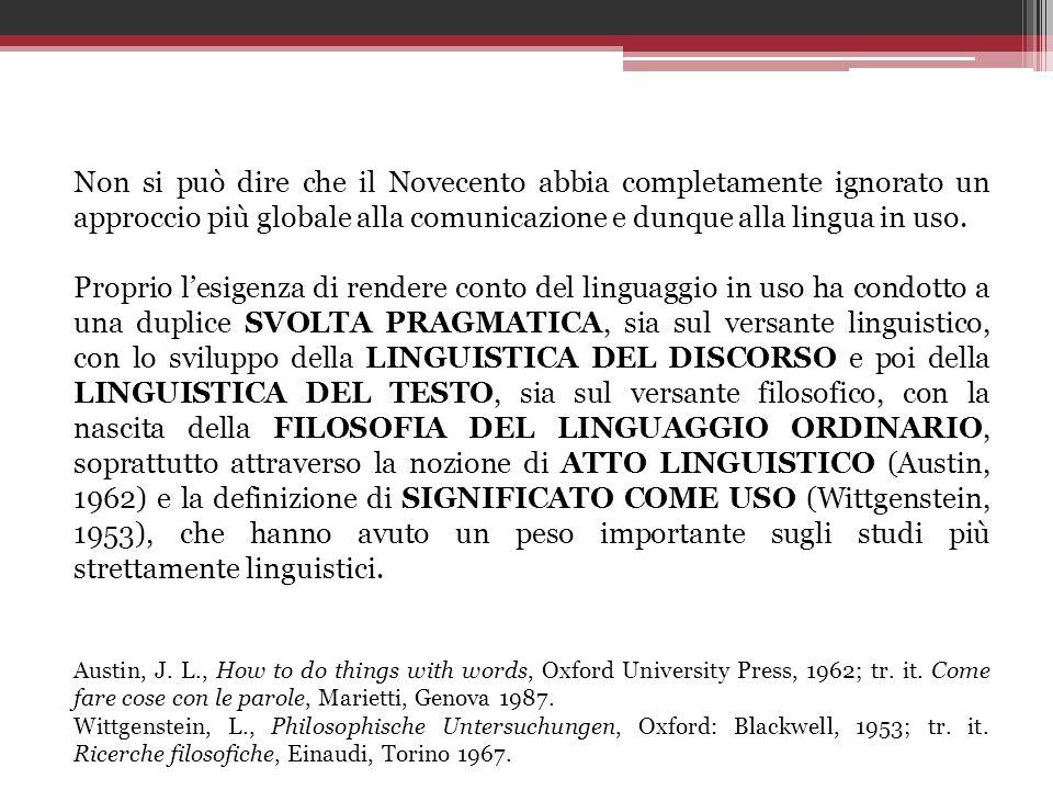 Unaltra tipologia, proposta da Sabatini (1999), considera primaria la DIMENSIONE PRAGMATICA, e meno la matrice cognitiva, focalizzandosi sul patto comunicativo tra emittente e destinatario e sul grado di vincolo interpretativo che questo impone.