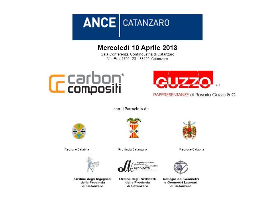 Mercoledì 10 Aprile 2013 Interventi di Consolidamento Statico e Sismico di strutture esistenti RINFORZO STRUTTURALE CON Fiber Reinforced Polymers PROGETTAZIONE, ESECUZIONE E CONTROLLO
