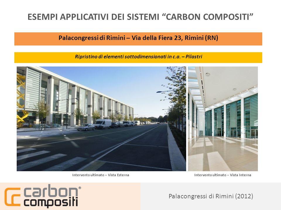 Presentazione126 Vasca Ostellato (2012) ESEMPI APPLICATIVI DEI SISTEMI CARBON COMPOSITI Società Due Valli S.r.l.