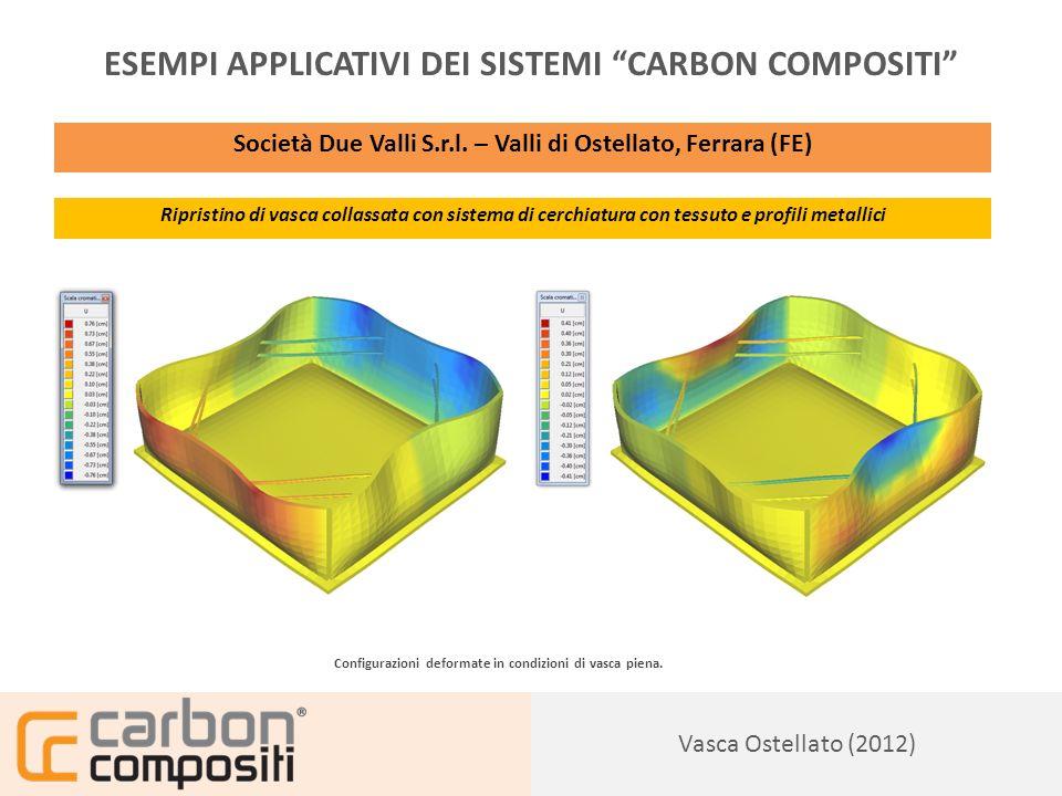 Presentazione135 Vasca Ostellato (2012) ESEMPI APPLICATIVI DEI SISTEMI CARBON COMPOSITI Società Due Valli S.r.l.