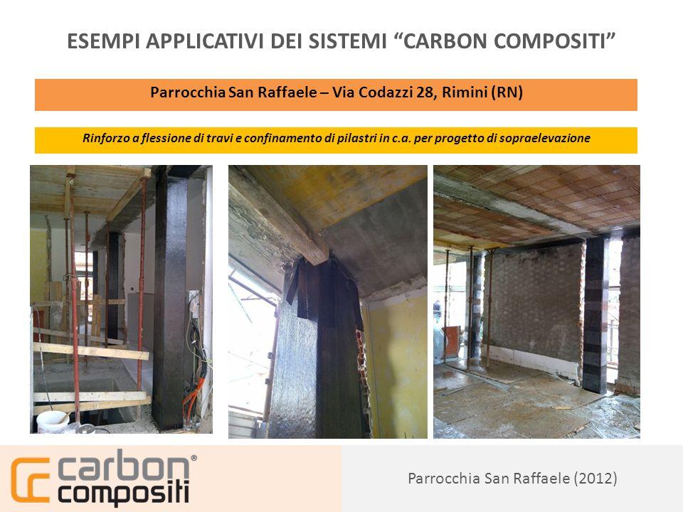 Presentazione148 Condominio Fantaguzzi (2012) ESEMPI APPLICATIVI DEI SISTEMI CARBON COMPOSITI Condominio Fantaguzzi – Via R.