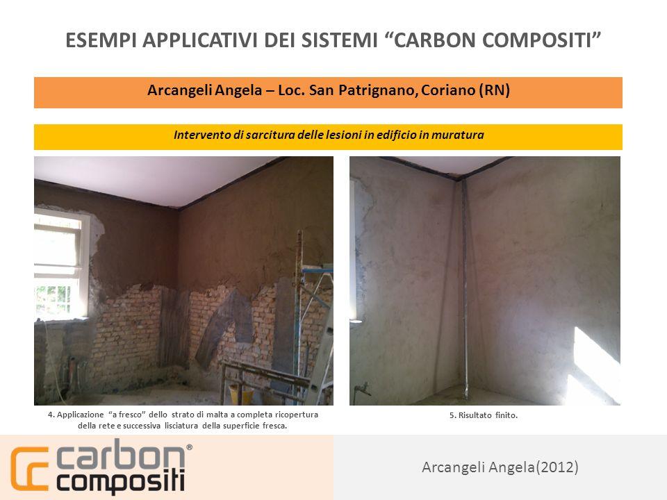 Presentazione153 ESEMPI APPLICATIVI DEI SISTEMI CARBON COMPOSITI Stadio Ceravolo – Catanzaro (CZ) Rinforzo di architravi con lamine pultruse in CFRP 1.
