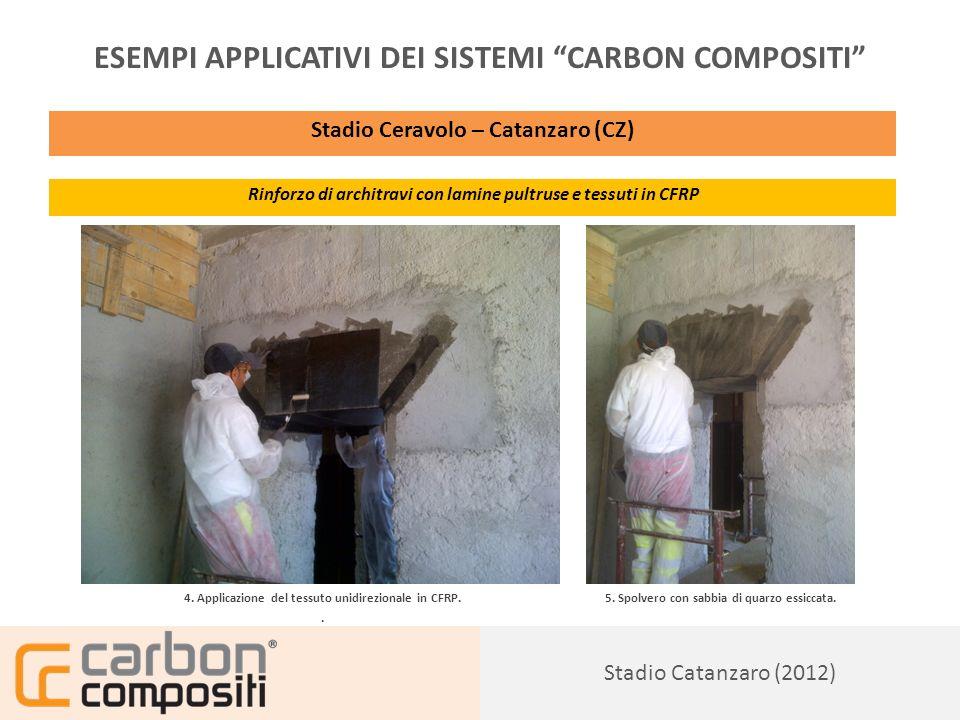 Presentazione157 ESEMPI APPLICATIVI DEI SISTEMI CARBON COMPOSITI Abitazione Privata, rif.