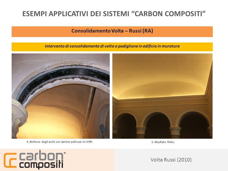 Presentazione165 ESEMPI APPLICATIVI DEI SISTEMI CARBON COMPOSITI Casa Privata: Ravenna, Rif.