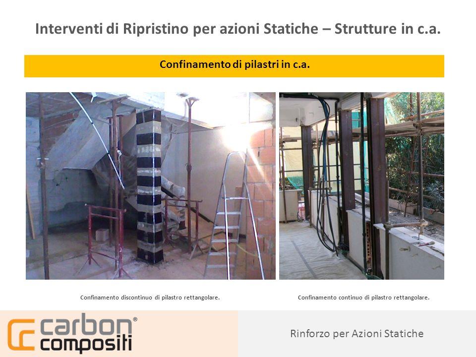 Presentazione53 Rinforzo a pressoflessione di pilastri in c.a.