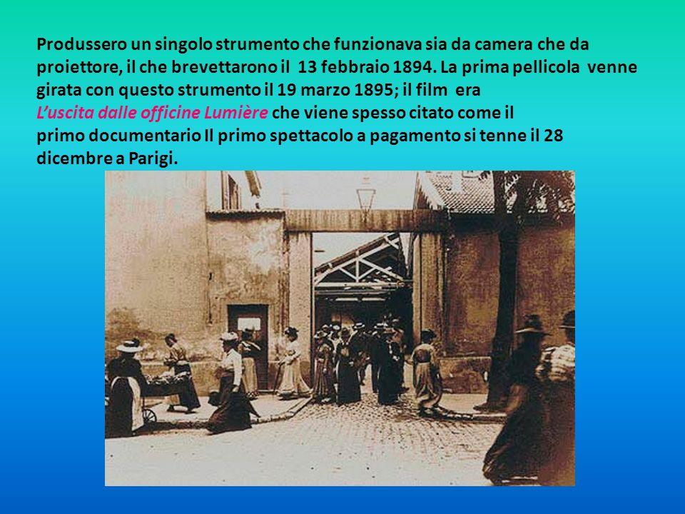 Andarono in tour con il cinématographe nel 1896 visitando Londra e New York.