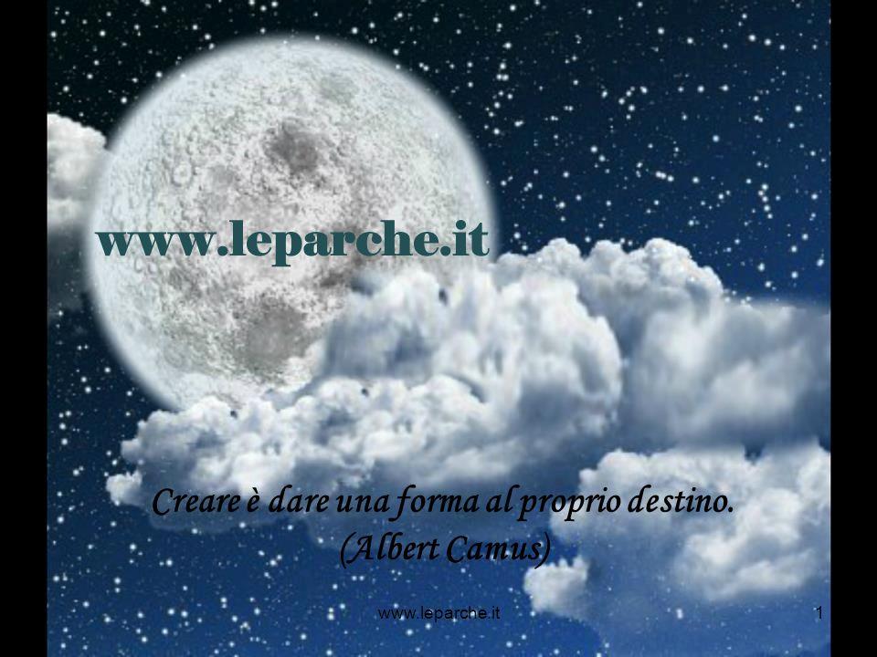 www.leparche.it1 Creare è dare una forma al proprio destino. (Albert Camus)