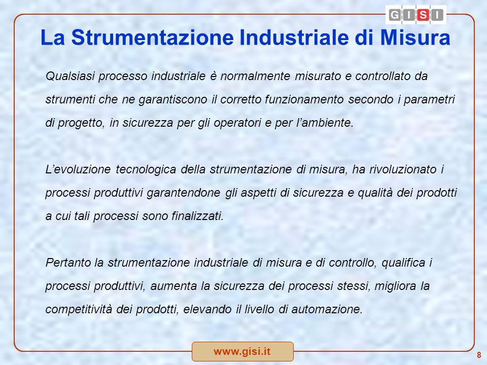 www.gisi.it 9 Proposta 2 : Istituzione di incentivi o vantaggi fiscali in relazione alla rottamazione degli strumenti di misura e/o di controllo industriali.