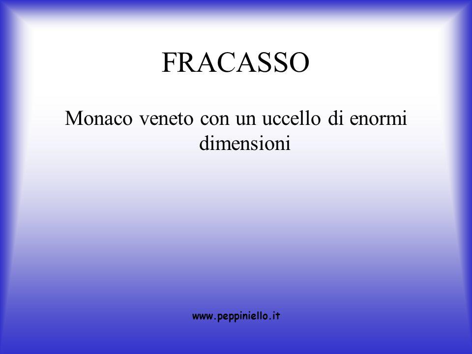 FRACASSO Monaco veneto con un uccello di enormi dimensioni www.peppiniello.it