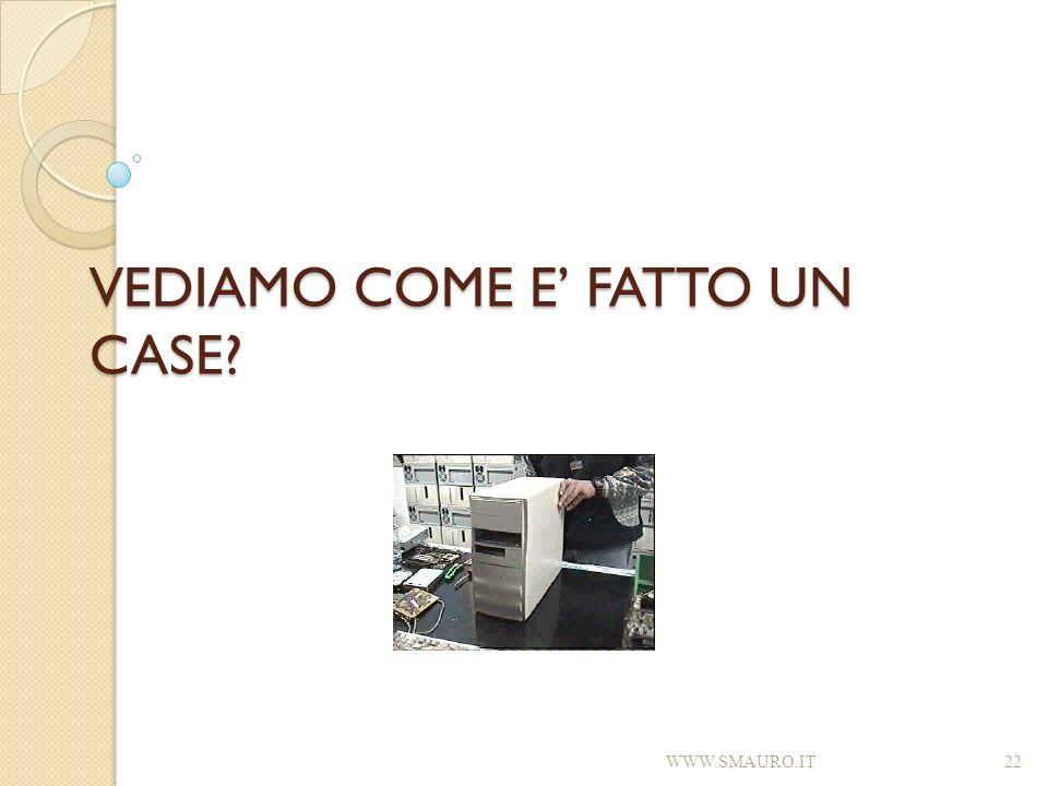 VEDIAMO COME E FATTO UN CASE? WWW.SMAURO.IT22