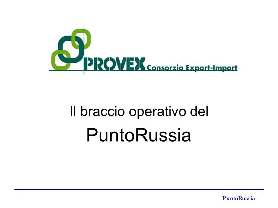 PuntoRussia Il braccio operativo del PuntoRussia