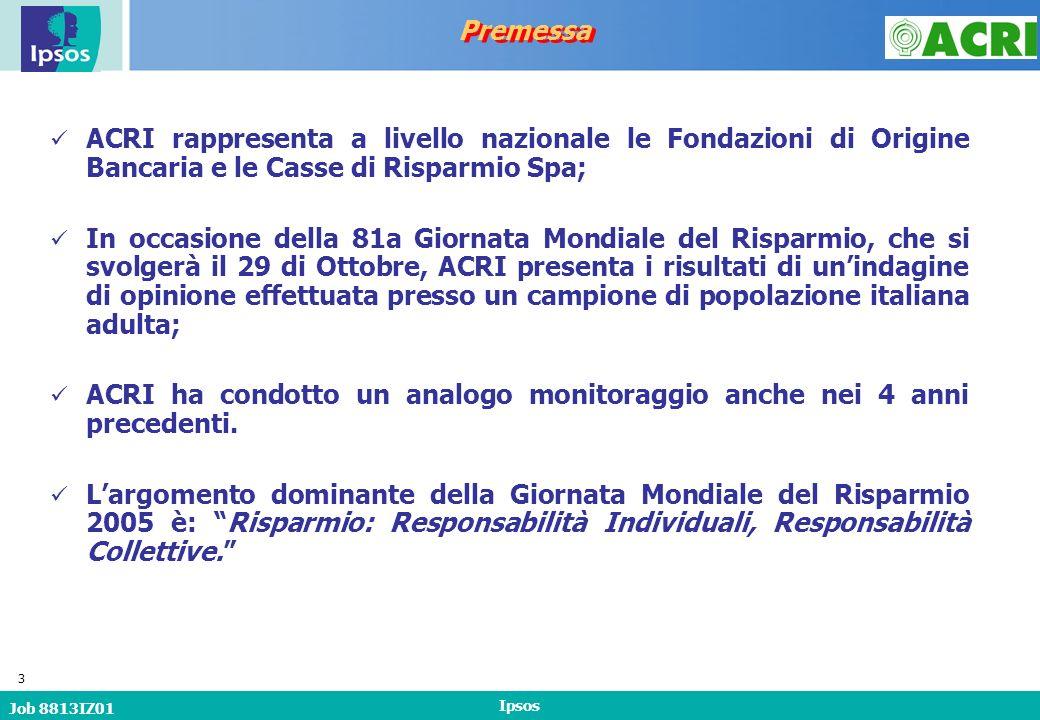 Job 8813IZ01 Ipsos 24 Oggi si parla molto della necessità di far riprendere i consumi da parte delle famiglie per favorire la ripresa economica dellItalia.