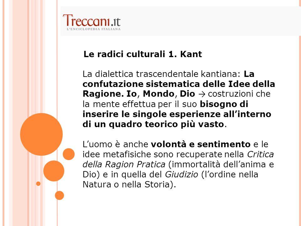 La dialettica trascendentale kantiana: La confutazione sistematica delle Idee della Ragione.
