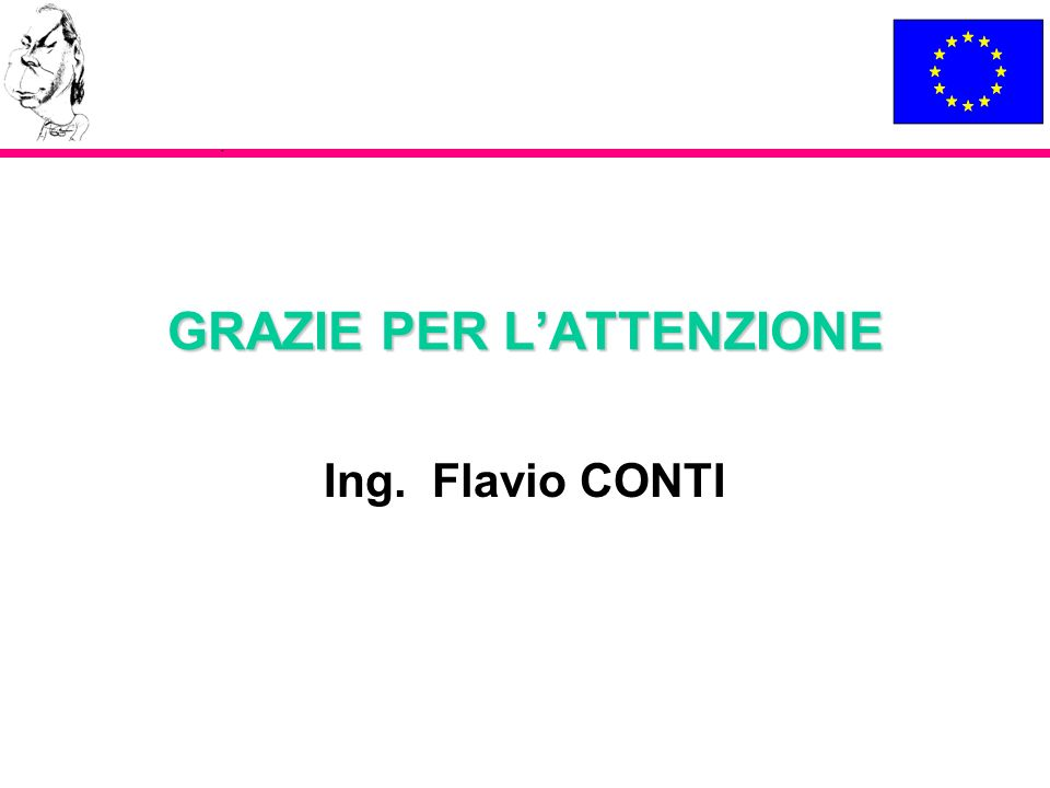 GRAZIE PER LATTENZIONE Ing. Flavio CONTI