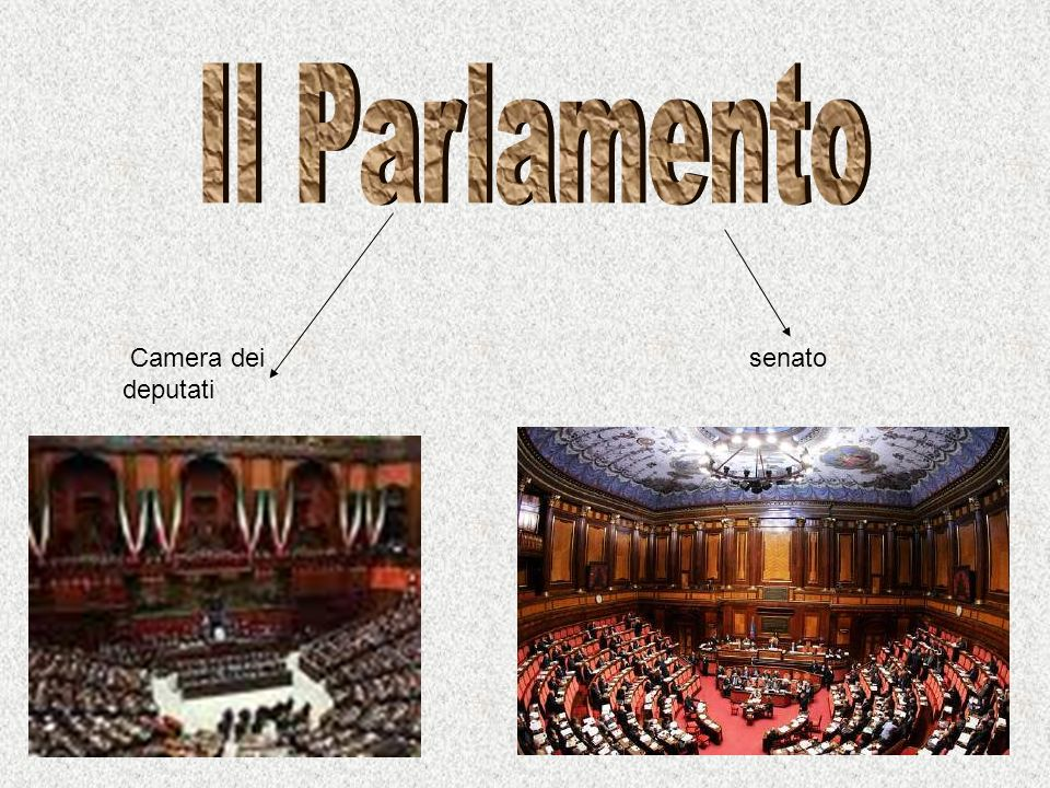 Camera dei deputati senato