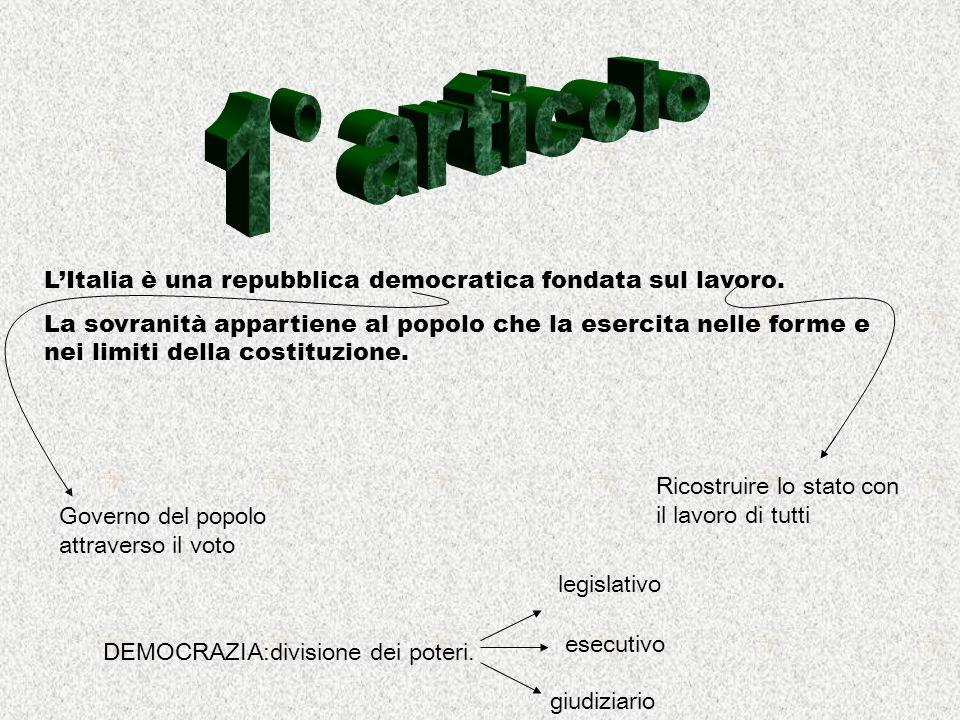 Lordinamento giuridico italiano si conforma alle norme del diritto internazionale generalmente riconosciute.